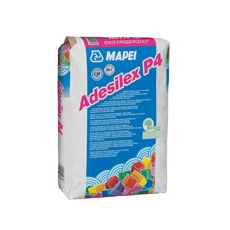 Mapei – Adesilex P4 grigio sacco da kg 25