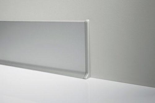 Profilpas – Terminale per battiscopa Dx-Sx (coppia)  art. 90/6P in polipropilene bianco opaco